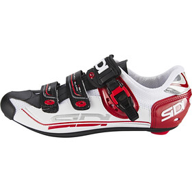 Sidi Genius 7 Shoes Herr white/black/red